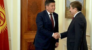 Jeenbekov: We are grateful to TURKSOY