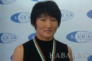 Aisuluu Tynybekova won first place at an international tournament in wrestling in the US