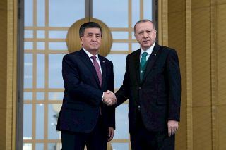 We signed a historic agreement - Jeenbekov on agreements reached with Turkey