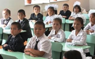 11 thousand children to start school in 2015 in Bishkek