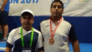 Kyrgyz wrestler wins bronze at 2017 Summer Deaflympics