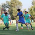 Kyrgyz football team exercising in Thailand before Asian Games start