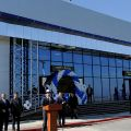 Isakov takes part in opening of new arrival hall at Osh airport