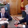 Speaker of Kyrgyz Parliament, Kazakh Ambassador discuss cooperation