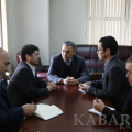 Director of Kabar News Agency and representative of the Organization of culture and Islamic relations of Iran discuss religious-