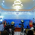 The last summer press-conference of Atambayev in Cholpon-Ata