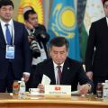 Sooronbai Jeenbekov urges colleagues to jointly fight extremism and terrorism