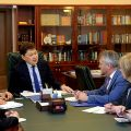 Kyrgyz Prime Minister and experts from UK discuss improvement of road safety in Kyrgyzstan