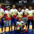 Kyrgyzstan team won 11 medals at Asian wrestling championship in Thailand