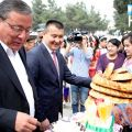 Delegation from Osh took part in celebration of Nooruz in Andijan